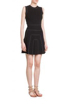 Valentino Black Studded Dress