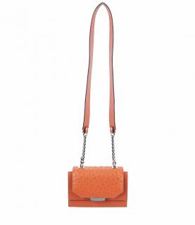 Farah Asmar Papaya Orange Mini Jackie O