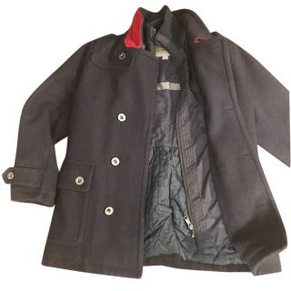 Burberry boy's wool coat