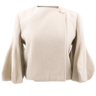 Stella McCartney Beige Cropped Coat