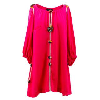 Isabel Marant Pink Silk Dress