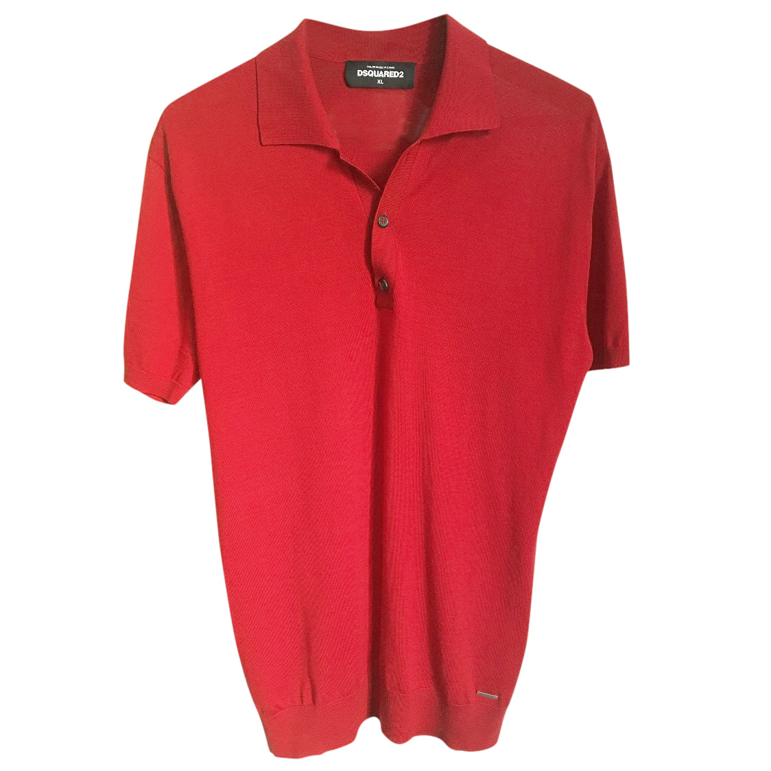 Dsquared2 Red Polo Shirt