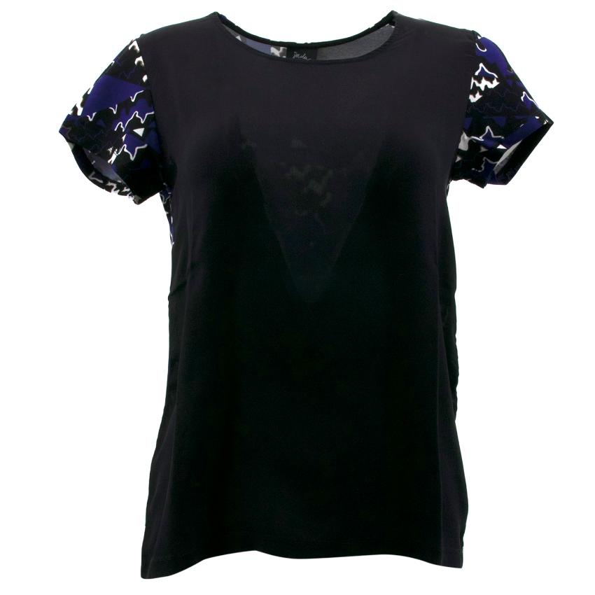 Daslu Black Silk Top
