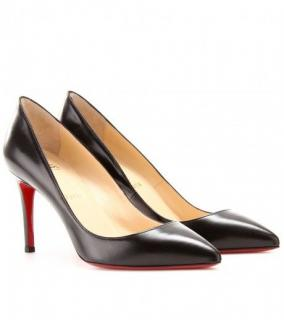 Christian Louboutin Pigalle 85 Kid Black