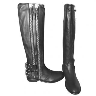 Giuseppe Long Black Boots