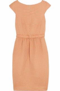 Jonathan Saunders Rose Waffle jacquard Dress