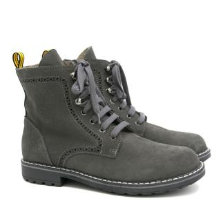 Bonpoint Kids Grey Boots
