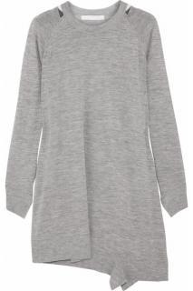 Alexander Wang fine knit wool sweater dress