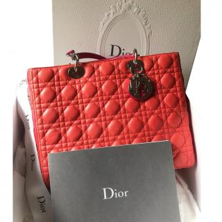 Large Lady Dior Bag Limited Edition