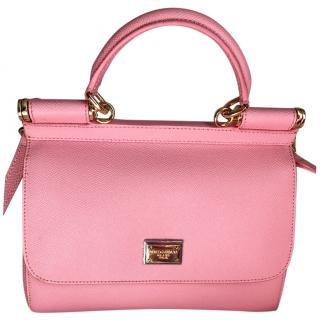 Dolce and Gabbana pink Miss Sicily Bag