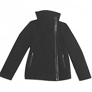 Mackage black wool/shearling Jacket