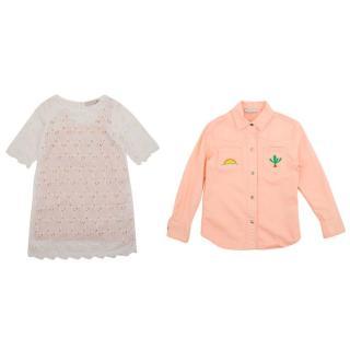 Stella McCartney Denim Jacket and Lace Dress Two Piece