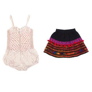 Stella McCartney Playsuit and Skirt Two Piece