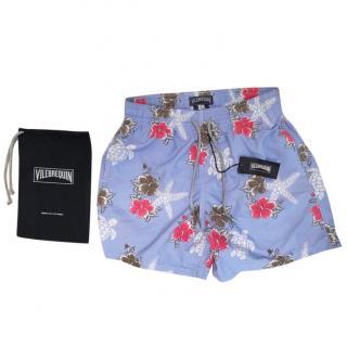 Vilebrequin Moorea Turtle Flower swim shorts