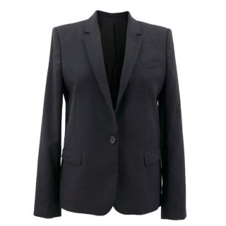 The Kooples Black Pattern Blazer