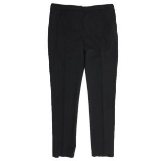 The Kooples Black Straight Leg Trousers