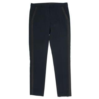 The Kooples Black Trousers With Straps on Side