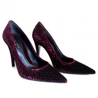 Sergio Rossi Stiletto Heel Evening Shoes