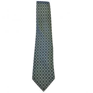Hermes Classic Men's Silk Tie.