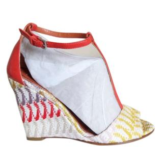 Missoni Wedge Heel Sandals