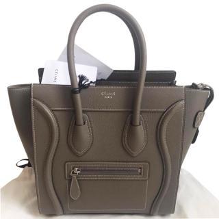Celine Beige Mirco Luggage