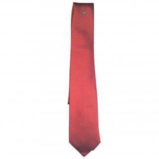 Hermes silk frog tie