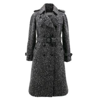 Yves Saint Laurent Grey Mohair Coat