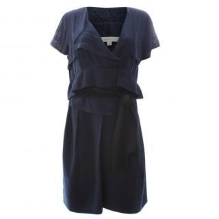 Vanessa Bruno Silk Waist-Tie Dress