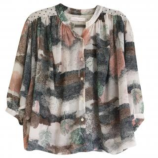See by Chloe multi colour  top