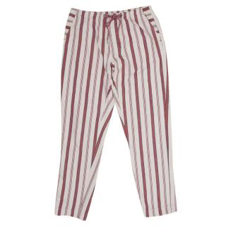 Zadig & Voltaire Red Striped Trousers