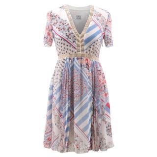 Tommy Hilfiger Gigi Hadid Patchwork Dress