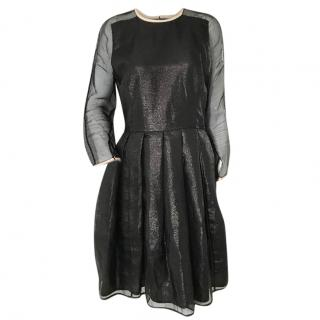 Antipodium XOXO Dress With Leather Trims