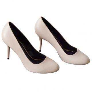 Celine nude/beige leather shoes pumps