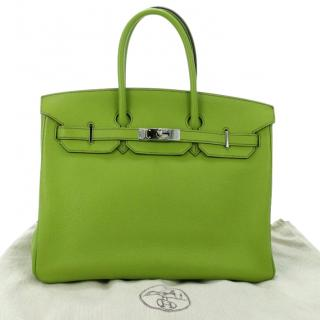 Hermes Birkin Bag 35 in Togo Leather