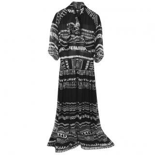 D&G Typography Print 2011 Fall Collection Dress.