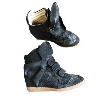 Isabel Marrant black becket trainer boots