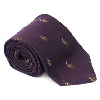 Polo by Ralph Lauren Purple Silk Tie