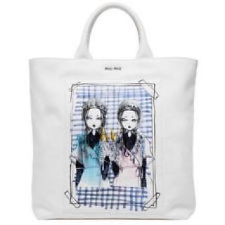 Miu Miu 'Eri Wakiyama' Limited Edition Shopper