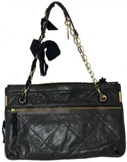 Lanvin Amalia Leather Shoulder Bag
