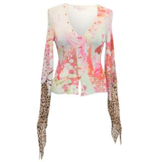 Roberto Cavalli Patterned Top