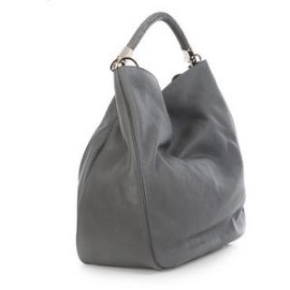 Yves Saint Laurent Grey Leather Roady Bag