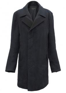 Rag & Bone Navy Wool Coat