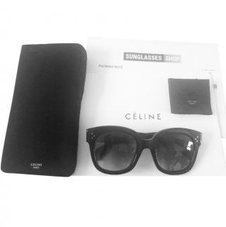 Celine New Audrey Sunglasses in Black
