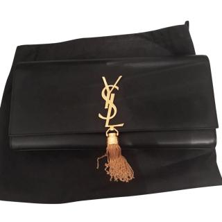 Saint Laurent Kate tassel clutch