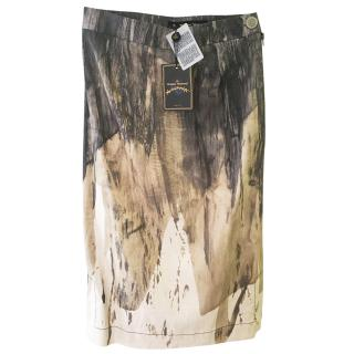 Vivienne Westwood Brushstroke Pencil Skirt