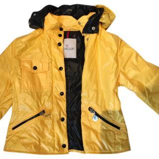 Moncler kid's yellow jacket