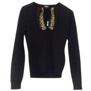 Just Cavalli Black Jumper