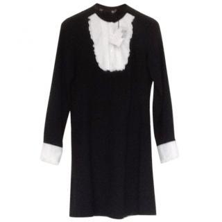 Love Moschino Black & White Dress