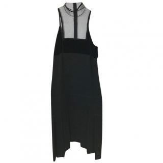 Jean Paul Gaultier Mesh Detail Dress