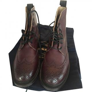 Trickers brogue ankle boots